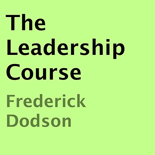 The Leadership Course audiobook cover art