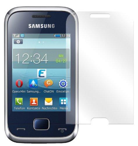dipos I 2X Schutzfolie klar kompatibel mit Samsung Rex 60 Folie Displayschutzfolie