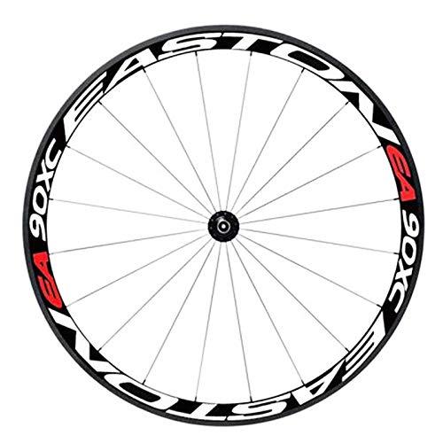 TENGGO 1Pc 26/27.5Inch Ruota Adesivo Riflettente Bici Decals Ciclismo Safe Protector MTB Accessori Bici-F
