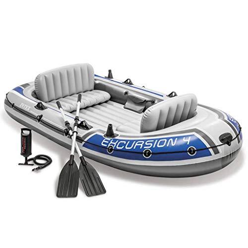 Intex Excursion 4 Set Schlauchboot + Paddel 68324NP