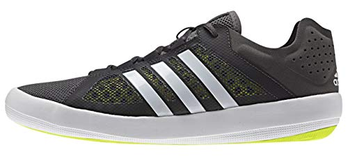 adidas sailing Adidas sailing Deckschuh Ta01 Bootsschuh, Farbe:Granite/ White/ Semi Solar Yellow;Größe:43 1/3