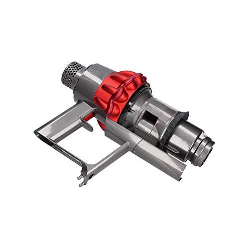 Ensemble bloc moteur avec cyclone rouge - Aspirateur balai Dyson - Conçu pour la gamme V10.