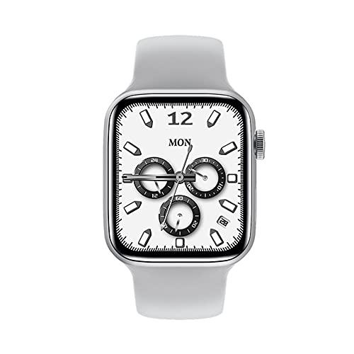 LSQ 2021 Nuovo Originale IWO HW22 Plus PRO 44Mm Smart Watch Series 6 Caricabatterie Wireless 1.75'Fai da Te Viso Pressione Sanguigna Uomo Donne Donne Smartwatch per iOS PK W56 W66,D