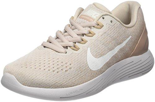 Nike Wmns Lunarglide 9, Zapatillas de Running para Mujer, Beige...