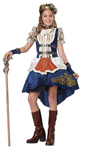 California Costumes Steampunk Fashion Girl Costume, Multi, Small
