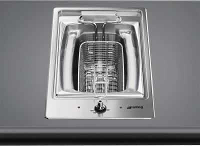 Smeg PGF30F - Freidora de cristal integrada