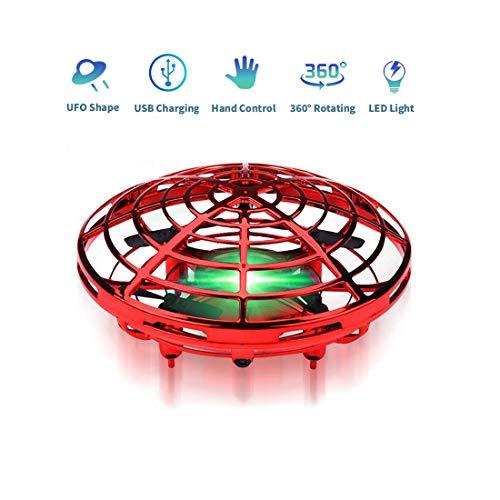 asuku Flying Ball Toy Drones,Hand Operated Drones for Kids or Adults - Scoot Flying Ball Drone?with 360