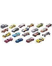 Hot Wheels Yirmili Araba Seti - Geniş Ürün Yelpazesi, Oyuncak Araba Koleksiyonu, 1:64 Ölçek - H7045