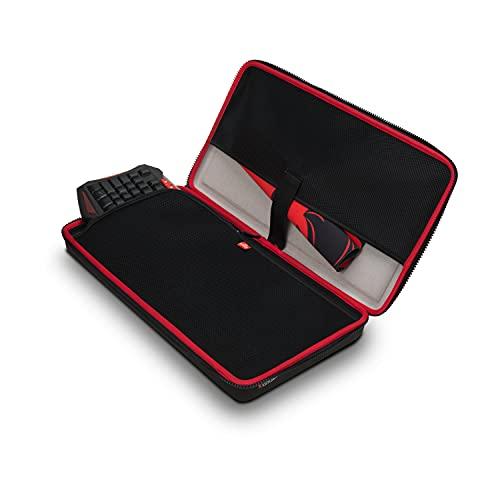 Caturix Keyboard Hülle - Formstabile Transportlösung für Dein Keyboard, schwarz