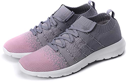 Women's Walking Shoes Slip On Athletic Running Sneakers $15 (50% Off with code)