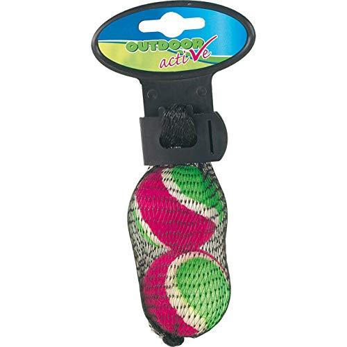 The Toy Company Outdoor Active en Maille Boules de Velcro, 2 pièces, diamètre 4 cm