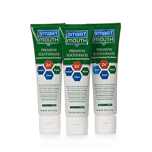 SmartMouth Premium Zinc Ion Toothpaste