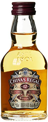 Chivas Regal Scotch 12 Years Old  Whisky (1 x 0.05 l)