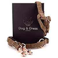 🐕 Training Harness And Lead: Each pack comes with a no-pull dog harness and long dog leash to provide you with a simple and convenient way to enjoy walks and runs with your furry friend while keeping them safe and comfortable for everyday use 🐕Get Th...