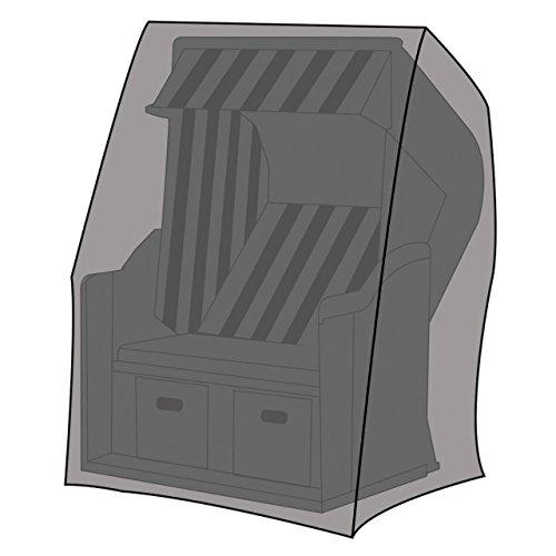 LEX Schutzhülle Deluxe für Strandkörbe, 130 x 100 x 170/134 cm, Tragetasche