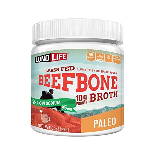 LonoLife Beef Bone Broth Powder (12 Servings)