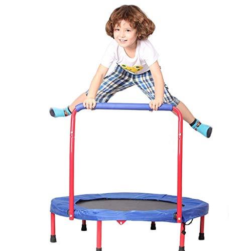 LY Trampolines 36-inch kinderen vouwen met handvat Bar | Rustige en veilige bounce |Indoor Outdoor Fitness Entertainment| Ondersteunt tot 240 pond