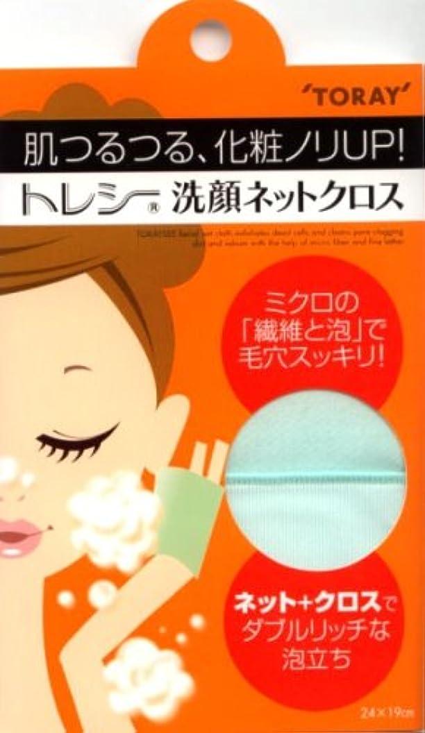 装備するブランド名従順なトレシー 洗顔ネットクロス ミント