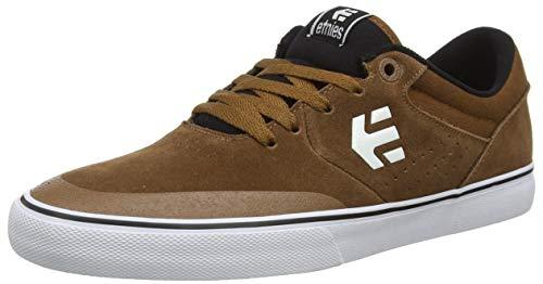 Etnies Marana Vulc, Zapatillas de Skateboard Unisex Adulto, Marrón (229/Brown/Black/White 229), 44 EU