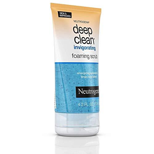 Neutrogena Deep Clean Invigorating Foaming Scrub, 4.2 Ounce (Pack of 2)