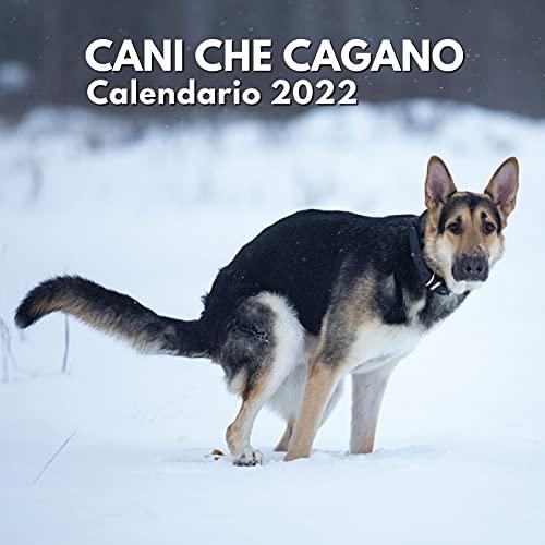Cani Che Cagano Calendario 2022: Regali Compleanno, Natale Donna Uomo, Amica Divertenti