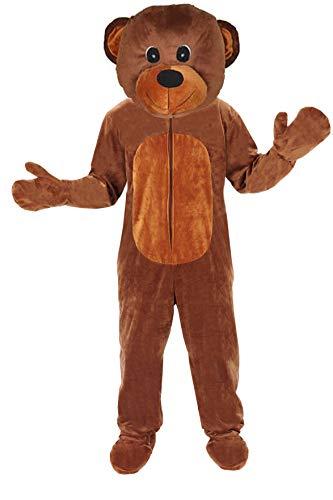 Teddy Bär Einheitsgrösse L - XL Kostüm Fasching Karneval Braunbär Erwachsene