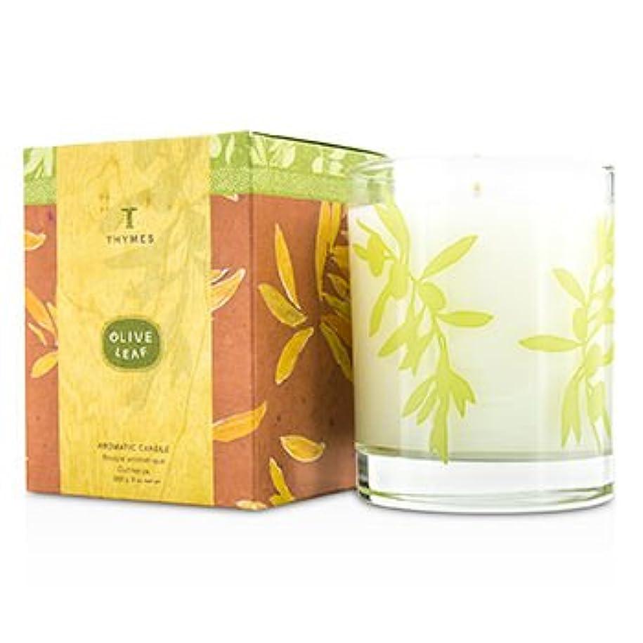 おんどり説明的アクセント[Thymes] Aromatic Candle - Olive Leaf 255g/9oz