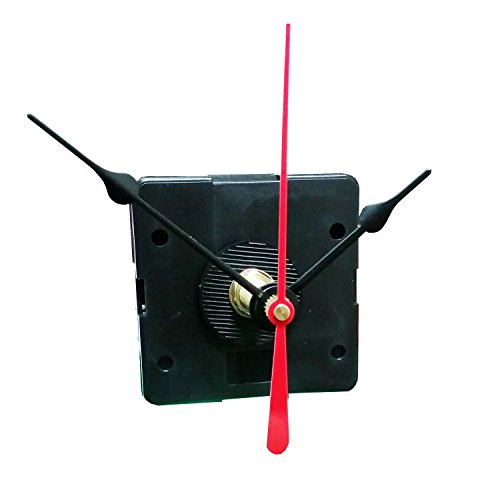 "Quartex Q-80 Quartz Clock Movement, 1/8"" Max Dial Thickness, 7/16"