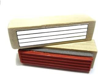 Music Ossia Staff Rubber Stamp