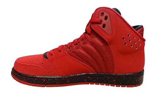 Nike Jordan 1 Flight 4 Prem, Chaussures spécial Basket-Ball pour Homme Rouge 44