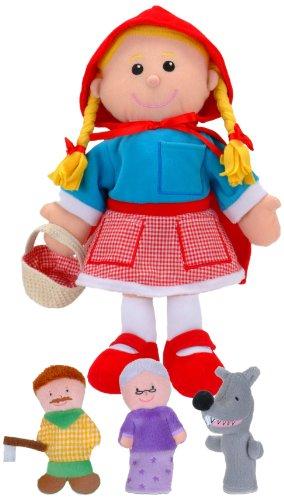 Fiesta roja Marioneta Caperucita (T-2686