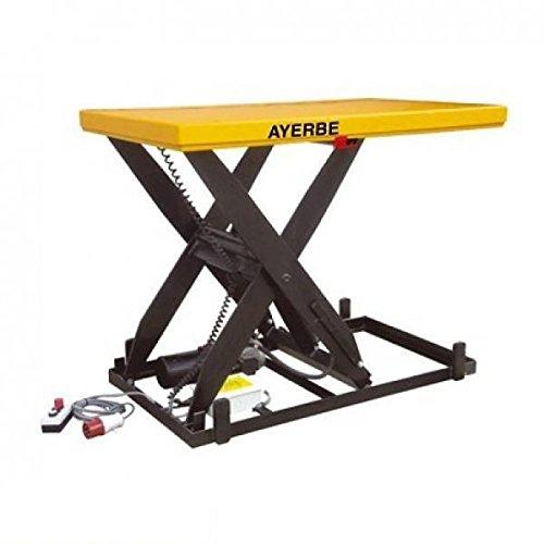 Ayerbe 0003354Hydraulische Tisch Elektrischer Antrieb mit Tragkraft bis 2000kg