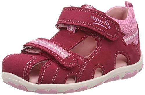 Superfit Baby Mädchen Fanni Sandalen, Pink (Rot/Rosa 52), 20 EU