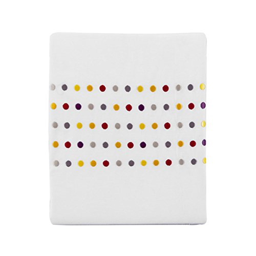 Essix - Drap Plat Venezia Percale de Coton Multicolore 270 x 300 cm