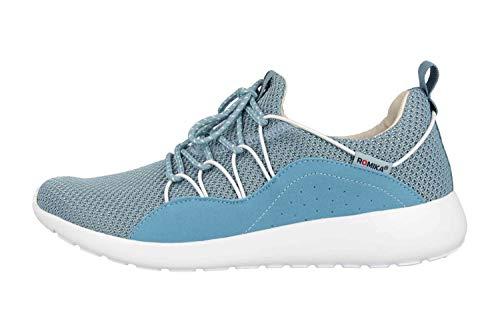 Romika Damen Carry 03 Sneaker, Blau (Azur-Kombi 516), 42 EU