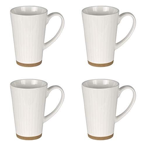 Table Passion - Coffret 4 mugs ecume 30 cl
