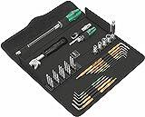 Wera 05134013001 Kraftform Kompakt F 1 Herramientas de atornillar para trabajos de ventanaje, 35...