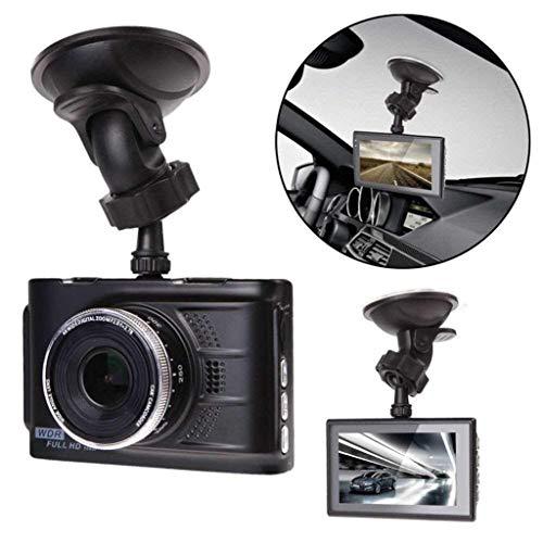 QXHELI Autokamera Full HD 1080P-Schlag-Nocken Für Auto-Nachtsicht Weitwinkel Auto-Kamera-Loop-Aufnahme G-Sensor Parken-Monitor WDR Motion Detection