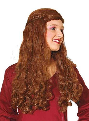 Perruque Moyen Age Femme