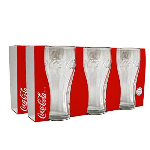 Vasos de Coca Cola (18 unidades, 0,3 L, 300 ml)