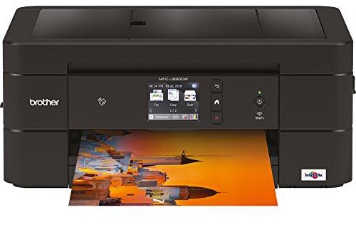 Brother MFC-J890DW 6000 x 1200DPI Inyección de Tinta A4 33ppm WiFi Multifuncional - Impresora multifunción (Inyección de Tinta, 6000 x 1200 dpi, 150 Hojas, A4, Impresión Directa, Negro)