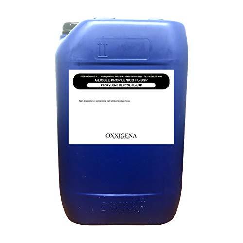 Oxxigena - Glicole Propilenico 5 KG | Purezza Farmaceutica Certificata USP EP - Base Neutra Full PG Inodore ed Insapore