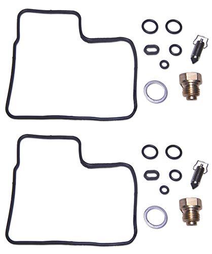 DP 0101-191 Carburetor Rebuild Repair Parts Kit (Set of 2) Compatible with Honda 87 VT700C Shadow 700, 88 VT800C Shadow 800, 87-89 VT1100C Shadow 1100