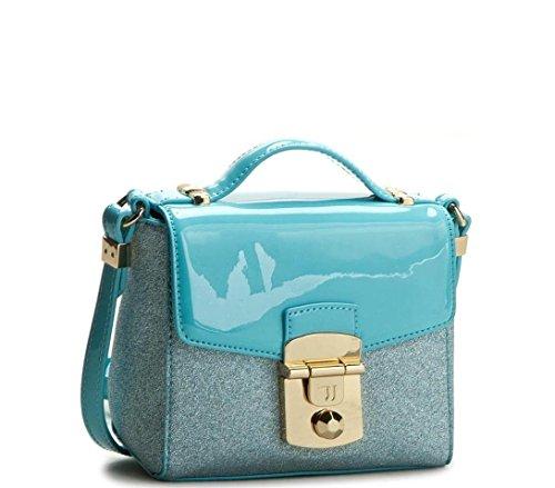 Trussardi Bolso Mujer 75BP51 92 Gold PE17 Azul Size: Talla única