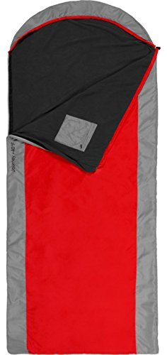 TETON Sports Journey +40F Ultralight Sleeping Bag Perfect for Backpacking, Hiking, and Camping; Free Stuff Sack Included by
