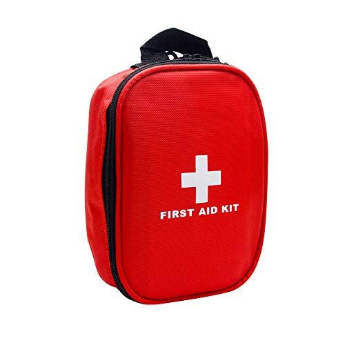Erste Hilfe Set Erste Hilfe Koffer für Haus, Auto, Camping, Wandern, Sport, Arbeit, Büro, Boot, Überleben und Reisen, Klein und Leicht 120-Stück-Kit Verbandskasten