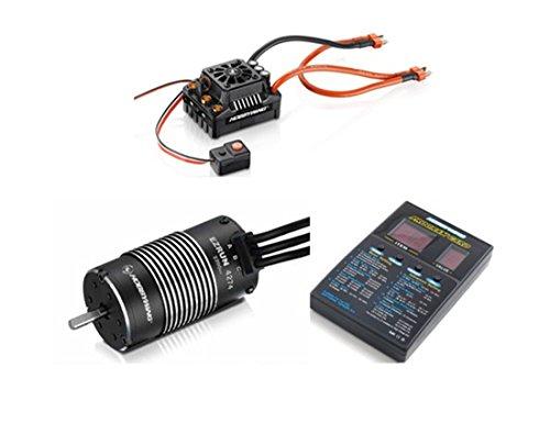 HobbyWing EzRun Max8 v3 TRX Stecker Wasserdicht Brushless ESC + 4274 2200KV Motor + LED Programmierung für 1/8-RC-Truck