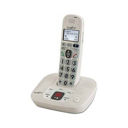 YBS Clarity DECT 6.0 Expandable Amplified Cordless Phones with Caller ID and Digital Answefring System