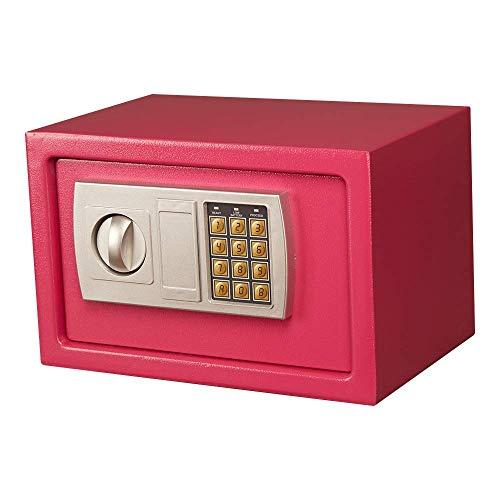Equipo para el hogar Cajas fuertes para gabinetes Mini caja fuerte Caja de dinero Caja fuerte electrónica de acero con teclado Caja fuerte digital para oficina en casa para negocios en casa o caja