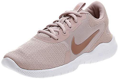 Nike W Flex Experience RN 9, Scarpe da Corsa Donna, Stone Mauve/Mtlc Red Bronze-Platinum Tint, 38 EU